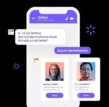 Beispiel Konferenz Guide Chatbot