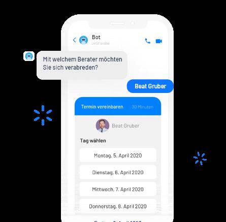 Beispiel Termin Assistent Chatbot