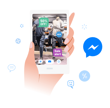 FB Messenger Augmented Reality