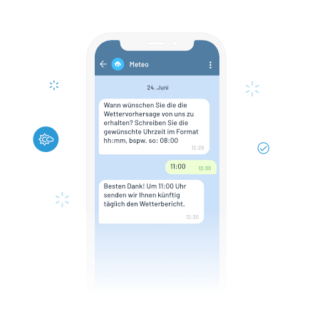 Two-Way Telegram Messaging