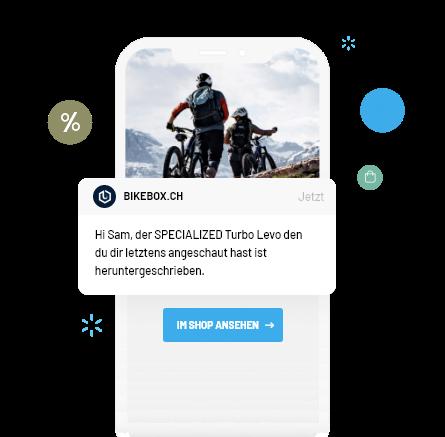 Webshop Produkt Followup