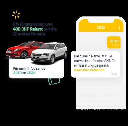 Werbeaktionen mit 2-Weg SMS